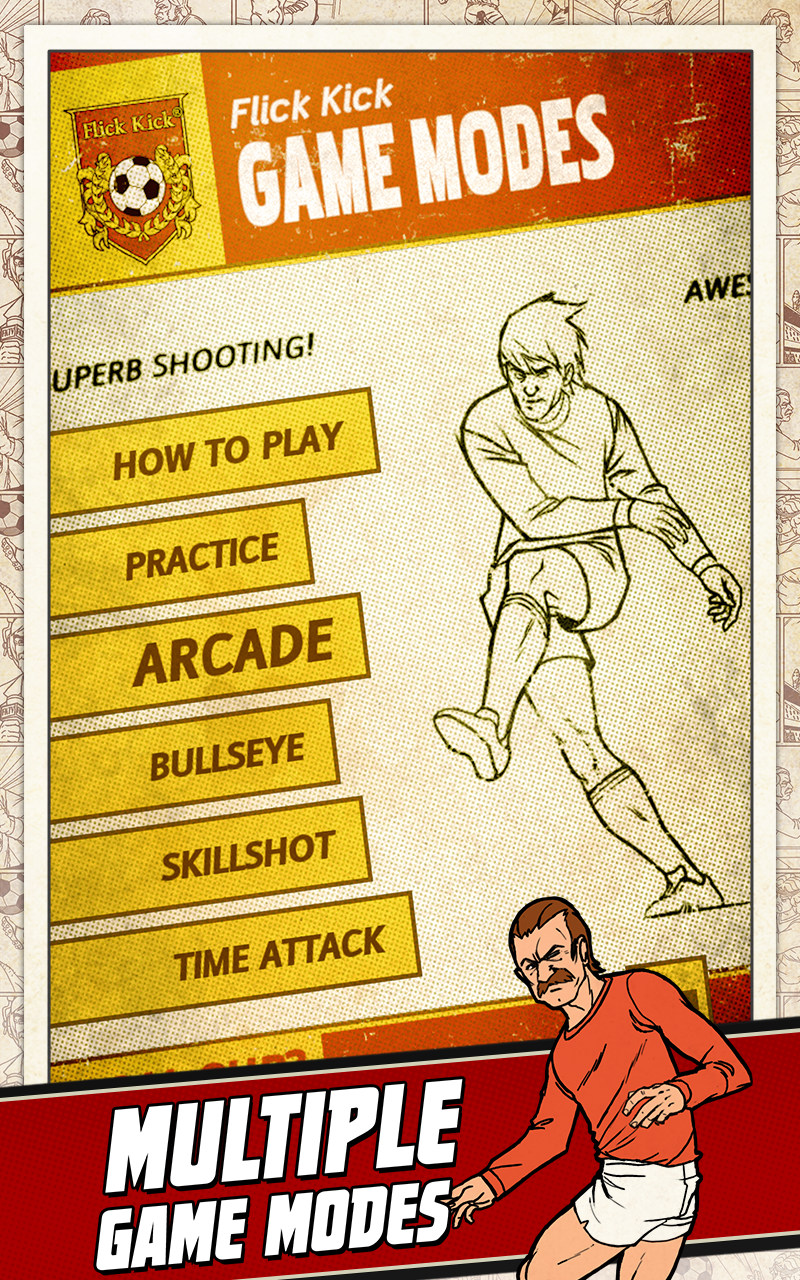Flick Kick Football screenshot #12