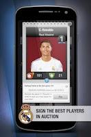 Screenshot of Real Madrid FantasyManager '14