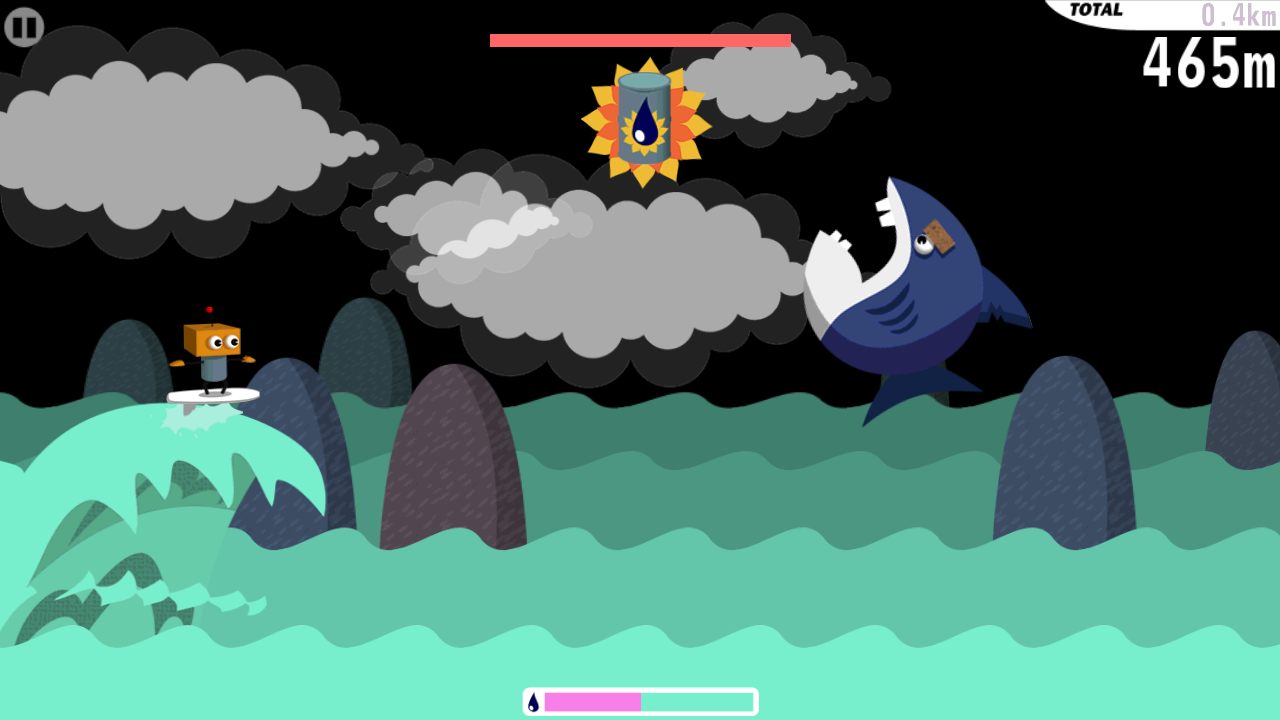 Robo Surf Free- screenshot