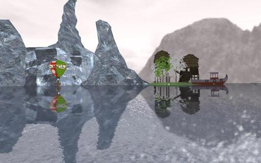 虚拟现实疯狂的冒险船