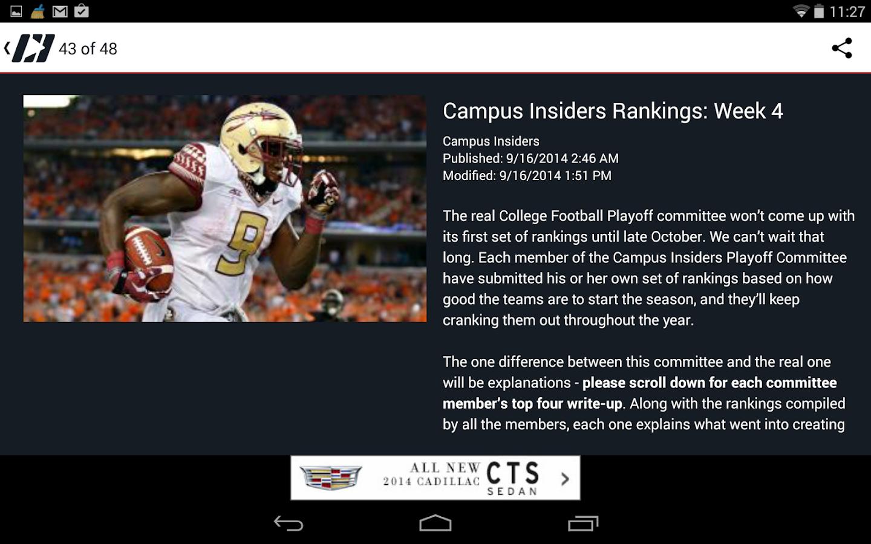 Campus Insiders - screenshot