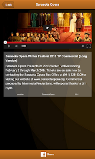Sarasota Opera- screenshot thumbnail