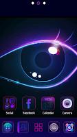 Screenshot of Purple Charm GO Launcher Theme