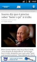 Screenshot of JN - Jornal de Notícias