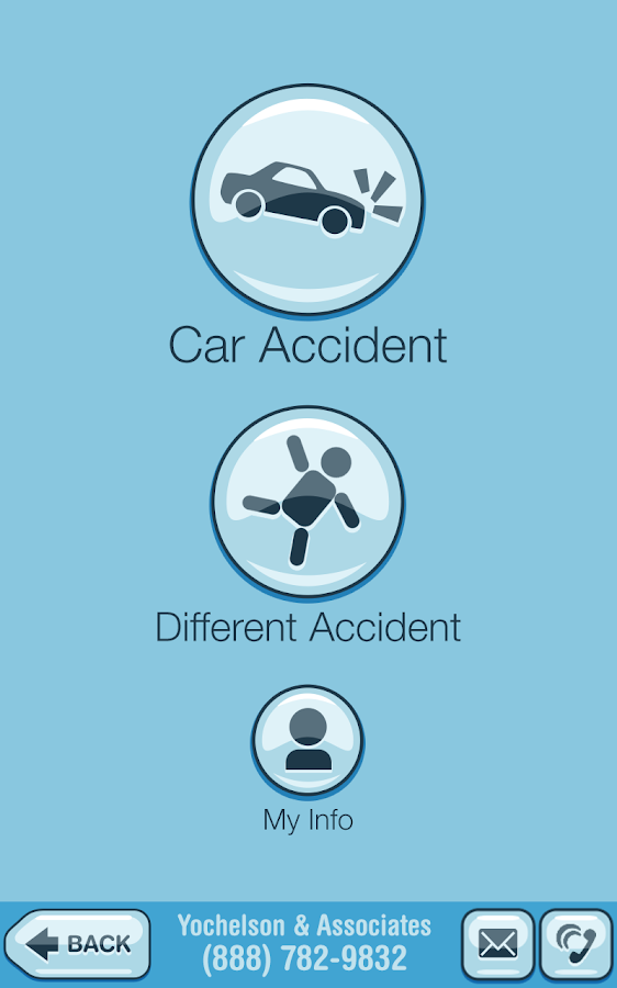 The Accident App- screenshot