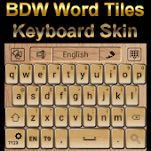 Word Tiles Keyboard skin