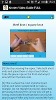 Screenshot of Knot Video Guide FULL