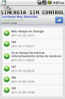 Screenshot of Sinergia Sin Control