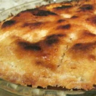 No Margarine Pastry Pie, Tart or Quiche Crust