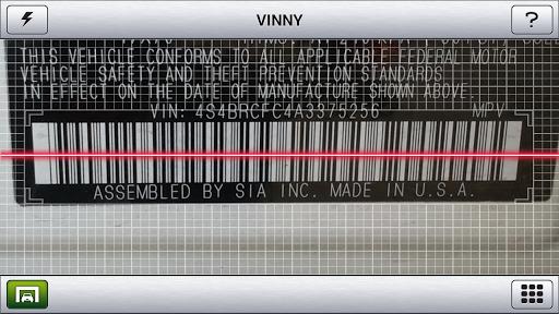 Vinny - Used Car VIN Scanner