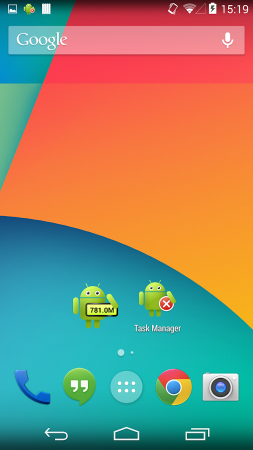 Task Manager (Task Killer) - screenshot