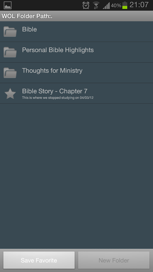 Watchtower Online Library App - screenshot