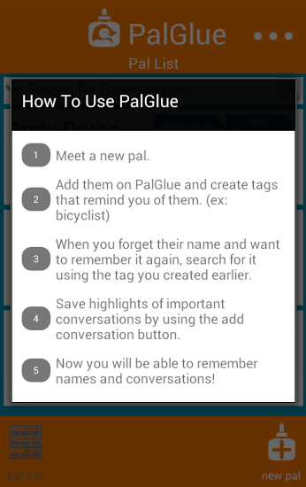 PalGlue- screenshot