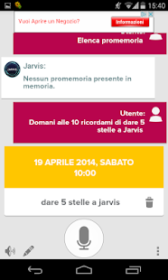Jarvis - Assistente Vocale- screenshot thumbnail
