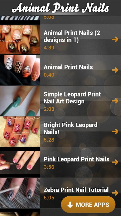 Animal Print Nails - screenshot