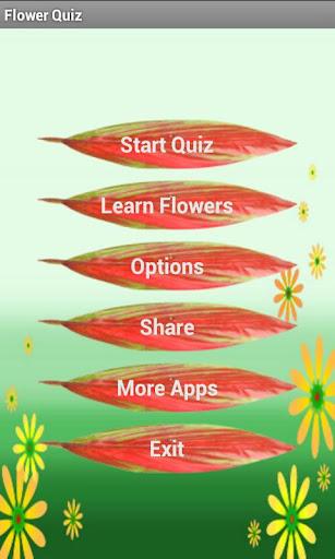 Flower Quiz