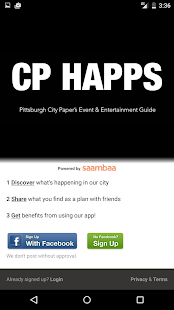CP HAPPS - Pittsburgh Events- screenshot thumbnail