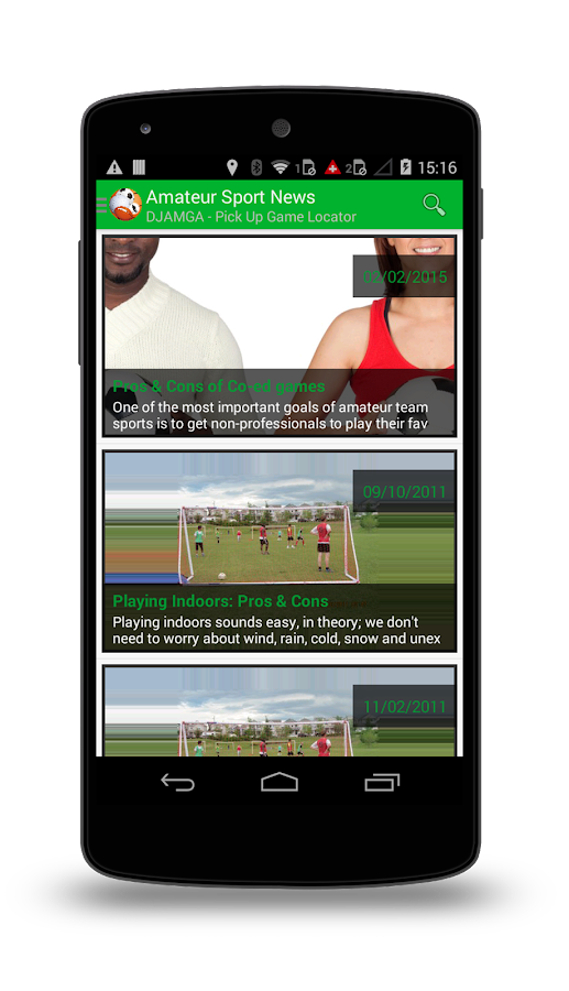 Djamga ShowUpAndPlaySports Pro- screenshot