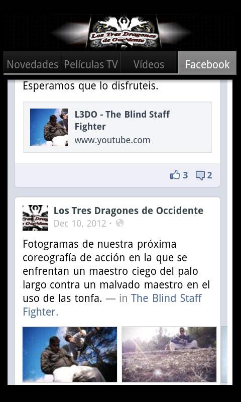 Los Tres Dragones de Occidente- screenshot