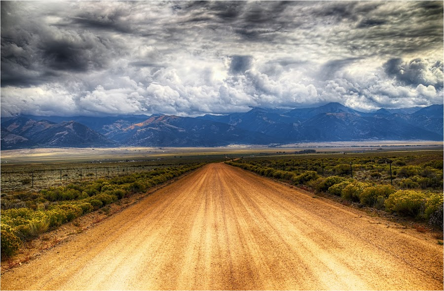 Into the Storm by Dennis Bartsch - Landscapes Mountains & Hills