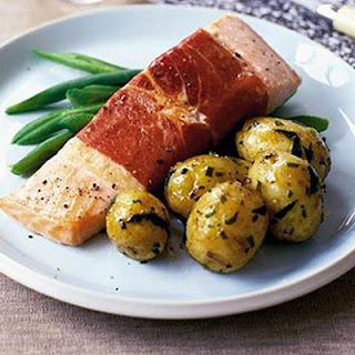 Pancetta-wrapped Salmon