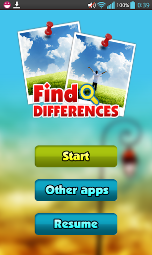 Find Differences Game
