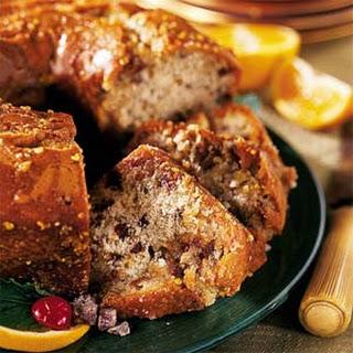Orange Date-Nut Cake