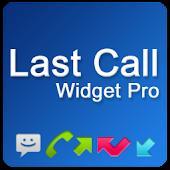 Last Call Widget Pro