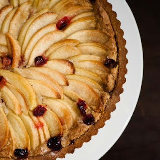 Cranberry Apple Nut Tart