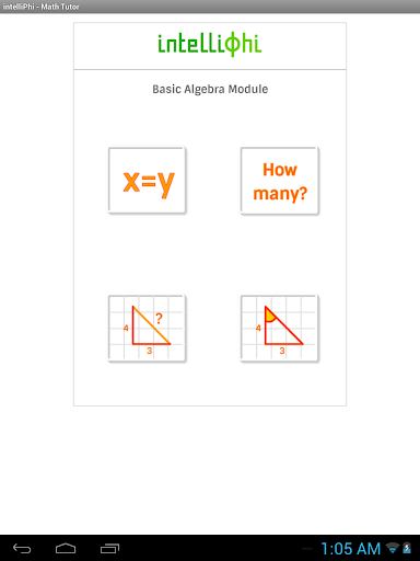 intelliPhi - Math Tutor