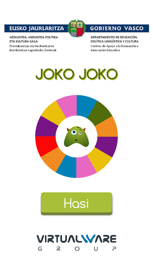 Joko Joko- screenshot