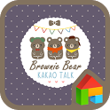 brown bear dodol theme icon