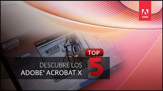 Acrobat X Top 5