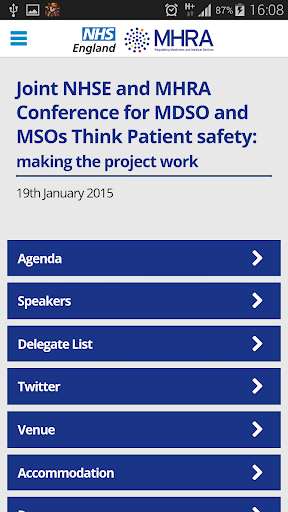 NHSE MHRA 2015 Conference