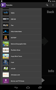 Romoku - Remote for Roku - screenshot thumbnail