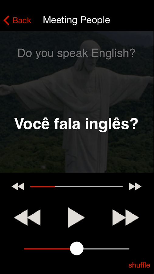Learn Brazilian Portuguese- screenshot