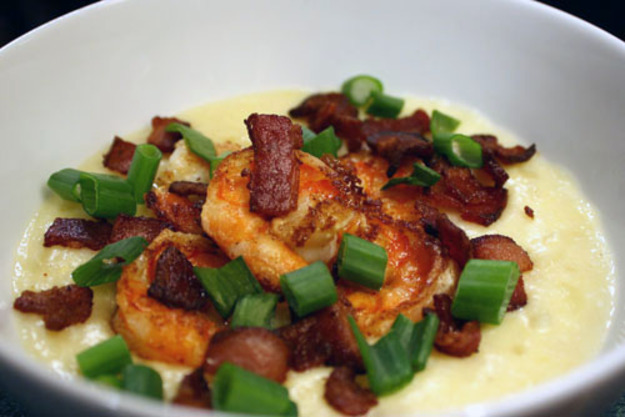 Shrimp and Grits with Bacon Recipe