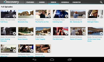 Screenshot of Discovery Channel