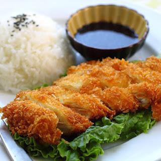 Chicken Katsu and Sauce