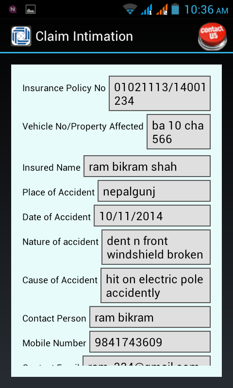 Premier Insurance Nepal- screenshot