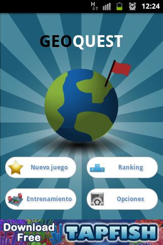 GeoQuest World Quiz - screenshot