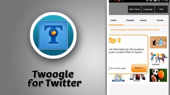 Twoogle - Twitter Search - screenshot thumbnail