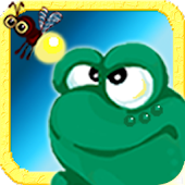 A Frog Shooter. Eat insects !