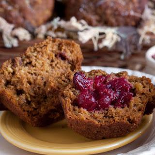 Gluten-Free Pumpkin-Cranberry Muffins