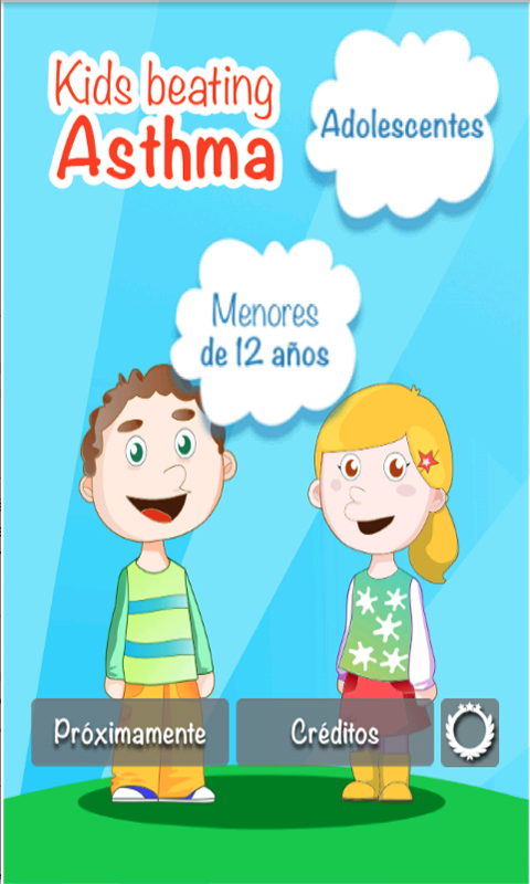 Kids Beating Asthma: captura de pantalla