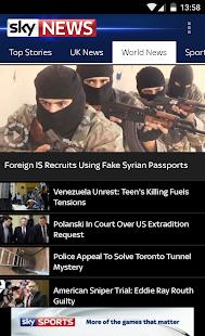Sky News - screenshot thumbnail