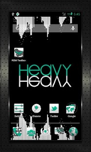 CYAN HEAVY CM AOKP THEME - screenshot thumbnail