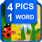 4 pics 1 word : picture quiz icon