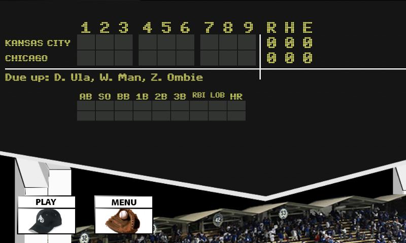 Homerun Baseball- screenshot