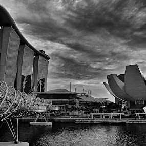 Marina Bay by Paulo Jorge - Buildings & Architecture Office Buildings & Hotels ( marina bay )